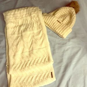 Michael Kors scarf and beanie.